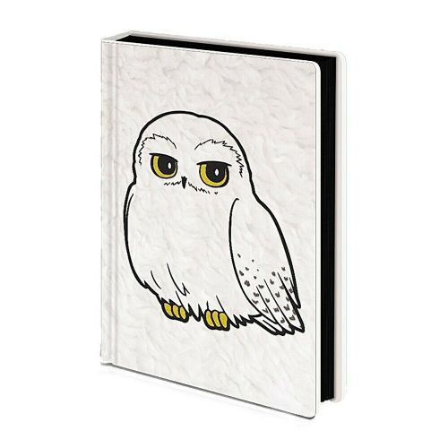 Harry Potter Hedwig Owl Fluffy A5 Premium Notebook Note Pad